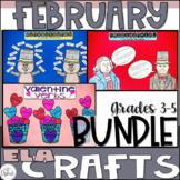 ELA Craftivity Bundle February
