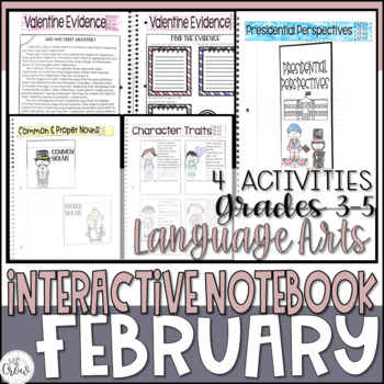 ELA Interactive Notebook February