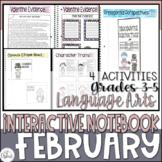 ELA Interactive Notebook February
