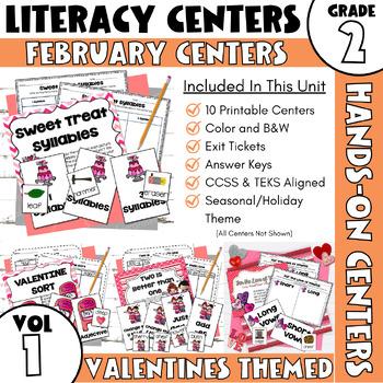 February Centers--2nd Grade ELA