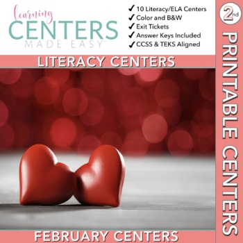 February Centers--2nd Grade ELA ONLY
