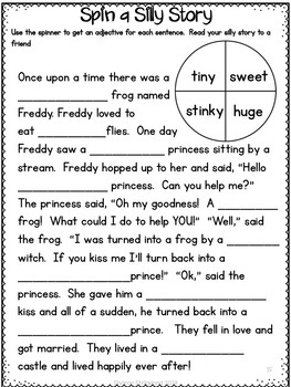 February ELA and Math Printables for First Grade