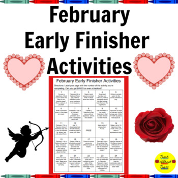February Early Finisher Activities