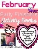 February Early Finishers {Activity Books}