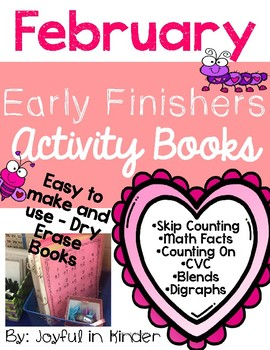 February Early Finishers {Activity Books}