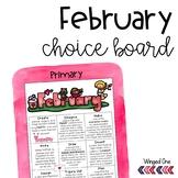 February Early Finishers Choice Board
