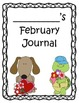 February Early Finishers Writing Journal