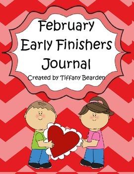 February Early Finishers Writing Journal