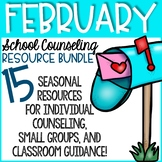 February Elementary School Counseling Bundle February Counseling Activities