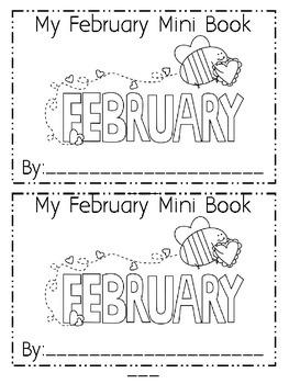 February Emergent Reader