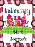 February Everyday Math Journals Printable