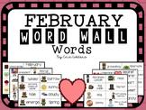 February Word Wall Words FREEBIE