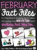 February Fact Files: Collecting Information from Informational Text