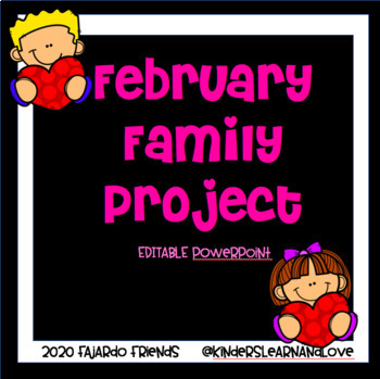 February Family Project (Valentine Box)