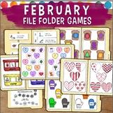 February File Folder Games