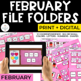 February File Folders Bundle for Special Education | Print