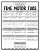 February Fine Motor Tubs