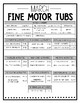 March Fine Motor Tubs