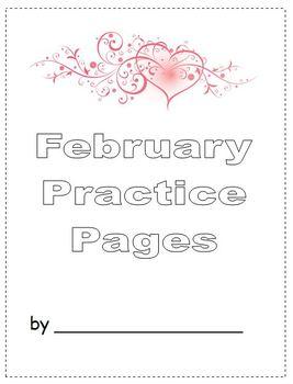 February Finished Work Packet