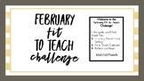 February Fit to Teach Week 2