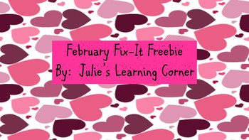 February Fix-It Freebie