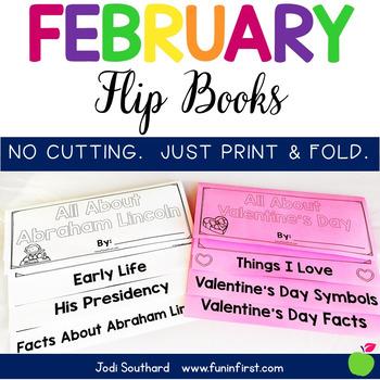 February Flip Books