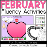 February Fluency Activities for Speech Therapy
