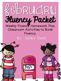 February Fluency Homework Practice Packet