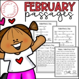 February Fluency Passages (Differentiated)