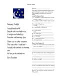 February Fluency Poem
