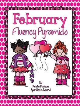 February Fluency Pyramids