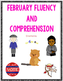 February Fluency and Comprehension Bundle