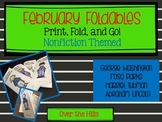 February Foldables: Nonfiction Print & Go