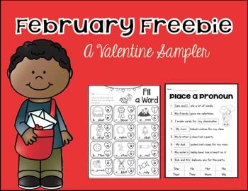 February Freebie Sampler