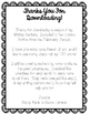 February Freebie:  Writing Center Sample  -Print and Go!