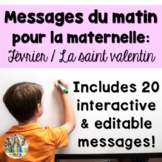 February French Morning Messages