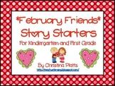 February Friends Story Starters
