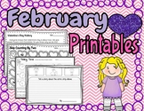February Fun Activities and Printables