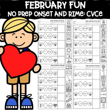 February Fun: CVCe Onset and Rime