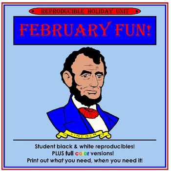 February Fun! Holiday Thematic Unit