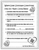 February Fun Informational QR Codes With Graphic Organizers