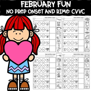 February Fun: Long Vowel Team Onset and Rime