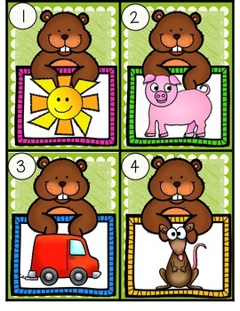 February Fun!--Math & Literacy Centers for Your K-1 Classroom