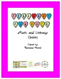 February Fun Math and Literacy Centers