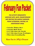 February Fun Packet
