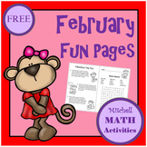 February Fun Pages