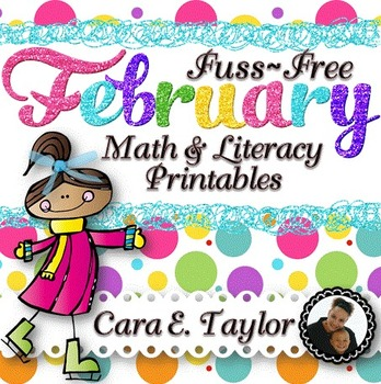 February Fuss-Free No Prep Printables ~ Black History, Valentine's Day and More