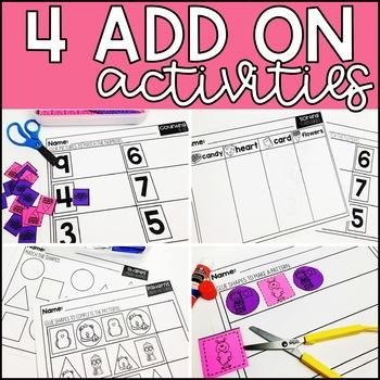 February Grab and Go Scissor Skills Activities
