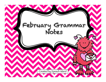 February Grammar Letters