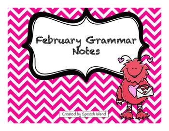 February Grammar Letters